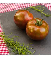 Bio rajče Black Zebra - Solanum lycopersicum - bio osivo rajčat - 7 ks