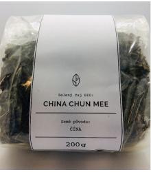 China Chun Mee Organic Tea - zelený čaj - BIO kvalita - 200 g
