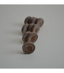 Sadbovací tablety - Jiffy - rašelinové zakořeňovače - vel. 33 mm - výhodnější balení 10 ks