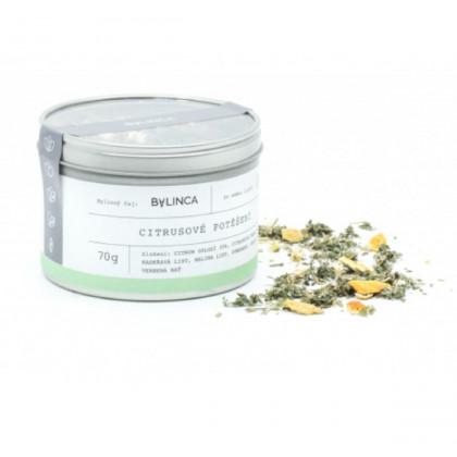 Citrusové potěšení - směs bylinek - bylinný čaj - 70 g